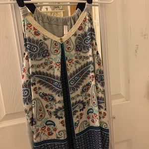 Summer Patterned Tank-Top